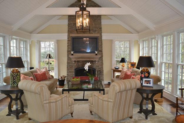 Linda heck interior design portfolio nantucket style for Nantucket interior style